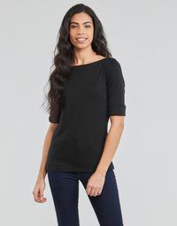 Odjeća Žene  Majice dugih rukava Lauren Ralph Lauren JUDY Crna