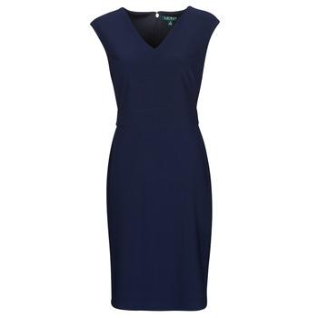 Odjeća Žene  Kratke haljine Lauren Ralph Lauren JANNETTE Blue