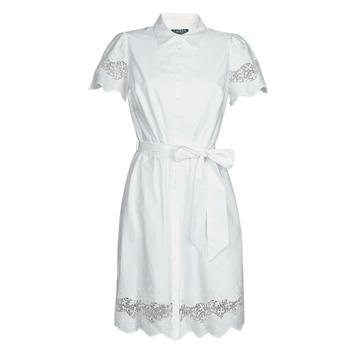 Odjeća Žene  Kratke haljine Lauren Ralph Lauren DORTHIA Bijela