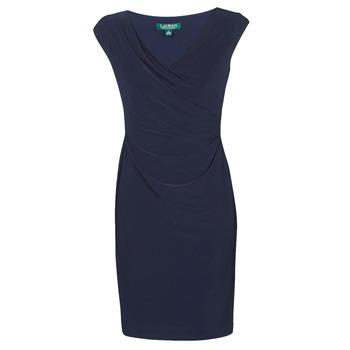 Odjeća Žene  Kratke haljine Lauren Ralph Lauren BRANDIE Blue