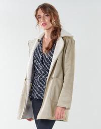 Odjeća Žene  Kaputi Lauren Ralph Lauren RVRSBL FXSH-COAT Camel