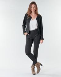 Odjeća Žene  Hlače s pet džepova Le Temps des Cerises BIEBER Crna