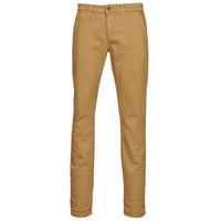 Odjeća Muškarci  Chino hlačei hlače mrkva kroja Le Temps des Cerises KURT JOGG Bež