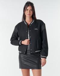Odjeća Žene  Kratke jakne Volcom TINYTED BOMBER Crna