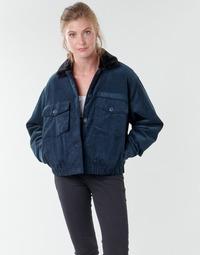 Odjeća Žene  Kratke jakne Volcom ARMY CORD JACKET Blue