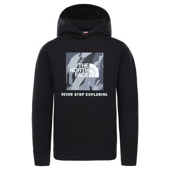 Odjeća Dječak  Sportske majice The North Face NEW BOX CREW HODDIE Crna