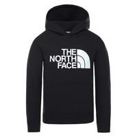 Odjeća Djeca Sportske majice The North Face DREW PEAK HOODIE Crna