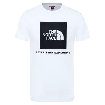 Odjeća Djeca Majice kratkih rukava The North Face BOX TEE SUMMIT Bijela