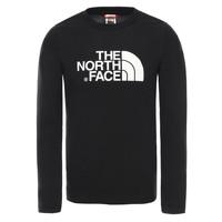 Odjeća Dječak  Majice dugih rukava The North Face EASY TEE LS Crna