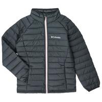 Odjeća Djevojčica Pernate jakne Columbia POWDER LITE JACKET Crna