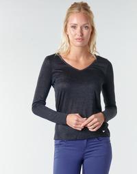 Odjeća Žene  Majice dugih rukava Les Petites Bombes ADRIANA Crna