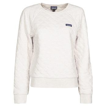 Odjeća Žene  Sportske majice Patagonia W'S ORGANIC COTTON QUILT CREW Krem boja