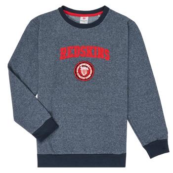 Odjeća Dječak  Sportske majice Redskins SW-H20-04-NAVY Blue