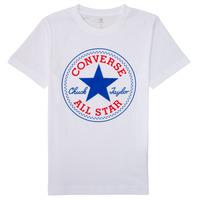Odjeća Dječak  Majice kratkih rukava Converse 966500 Bijela
