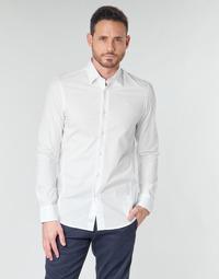Odjeća Muškarci  Košulje dugih rukava G-Star Raw DRESSED SUPER SLIM SHIRT LS Bijela