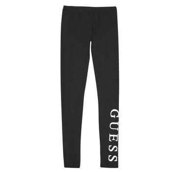 Odjeća Djevojčica Tajice Guess J94B16-K82K0-JBLK Crna