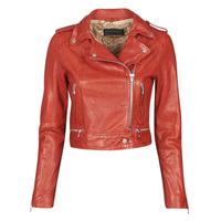 Odjeća Žene  Kožne i sintetičke jakne Oakwood KYOTO Red