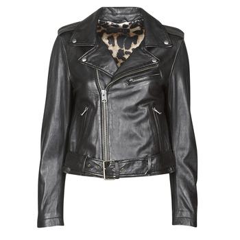 Odjeća Žene  Kožne i sintetičke jakne Oakwood RADIO Crna