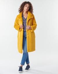 Odjeća Žene  Kaputi S.Oliver 05-009-52 Žuta