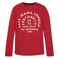 Odjeća Dječak  Majice dugih rukava Pepe jeans ANTONI Red