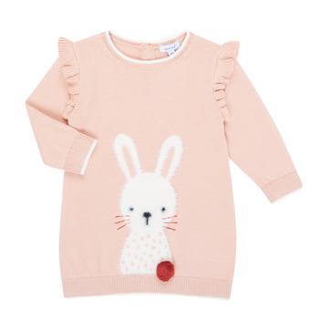 Odjeća Djevojčica Kratke haljine Absorba 9R30092-312-B Ružičasta
