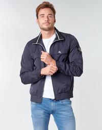 Odjeća Muškarci  Kratke jakne Calvin Klein Jeans ZIP UP HARRINGTON Blue