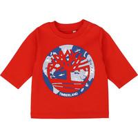 Odjeća Dječak  Majice dugih rukava Timberland T95889 Red