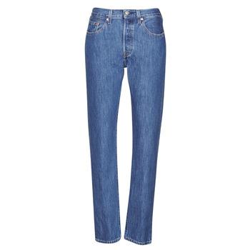 Odjeća Žene  Boyfriend traperice Levi's 501 CROP Breeze / Stone
