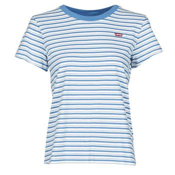 Odjeća Žene  Majice kratkih rukava Levi's PERFECT TEE Silphium / Colony / Plava