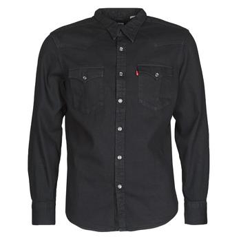 Odjeća Muškarci  Košulje dugih rukava Levi's BARSTOW WESTERN STANDARD Crna