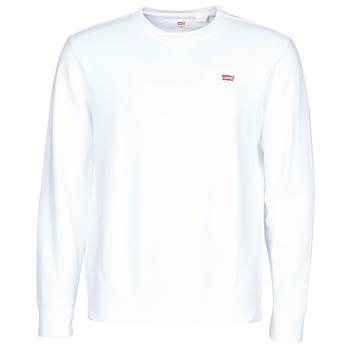 Odjeća Muškarci  Sportske majice Levi's NEW ORIGINAL CREW Bijela