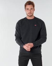Odjeća Muškarci  Sportske majice Levi's NEW ORIGINAL CREW Crna