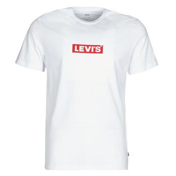 Odjeća Muškarci  Majice kratkih rukava Levi's BOXTAB GRAPHIC TEE Bijela