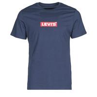 Odjeća Muškarci  Majice kratkih rukava Levi's BOXTAB GRAPHIC TEE Blue
