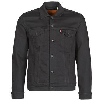 Odjeća Muškarci  Traper jakne Levi's THE TRUCKER JACKET Crna