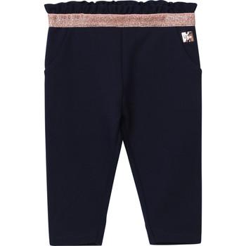 Odjeća Djevojčica Hlače s pet džepova Carrément Beau Y94194 Blue