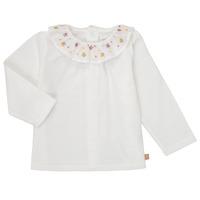 Odjeća Djevojčica Majice dugih rukava Carrément Beau Y95244 Bijela