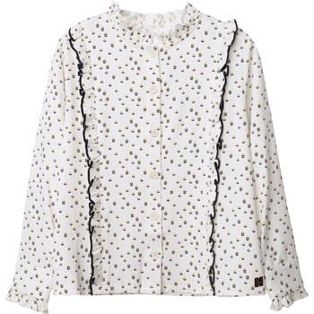 Odjeća Djevojčica Topovi i bluze Carrément Beau Y15356 Bijela