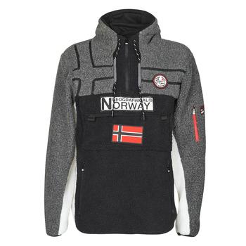Odjeća Muškarci  Flisevi Geographical Norway RIAKOLO Crna