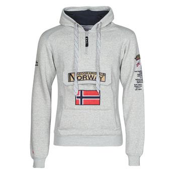 Odjeća Muškarci  Sportske majice Geographical Norway GYMCLASS Siva