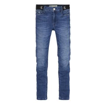Odjeća Djevojčica Skinny traperice Calvin Klein Jeans IG0IG00639-1A4 Blue