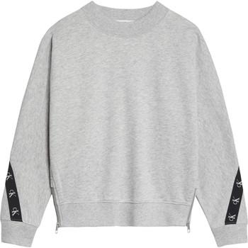 Odjeća Djevojčica Sportske majice Calvin Klein Jeans IG0IG00687-PZ2 Siva