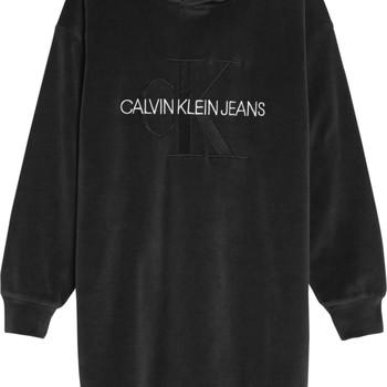 Odjeća Djevojčica Kratke haljine Calvin Klein Jeans IG0IG00711-BEH Crna