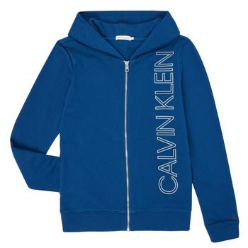 Odjeća Dječak  Sportske majice Calvin Klein Jeans IB0IB00668-C5G Blue