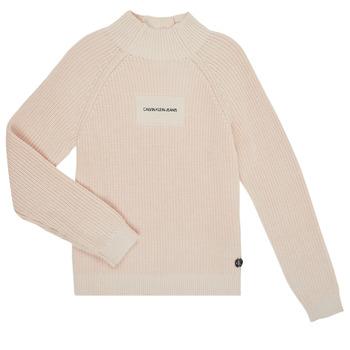 Odjeća Djevojčica Puloveri Calvin Klein Jeans IG0IG00680-PGB Siva