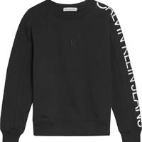 Odjeća Djevojčica Sportske majice Calvin Klein Jeans IG0IG00691-BEH Crna