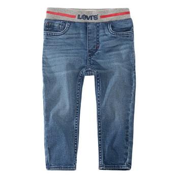 Odjeća Dječak  Skinny traperice Levi's PULL-ON SKINNY JEAN River / Run