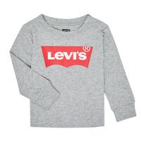 Odjeća Dječak  Majice dugih rukava Levi's BATWING TEE LS Siva
