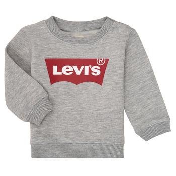 Odjeća Dječak  Sportske majice Levi's BATWING CREW Siva