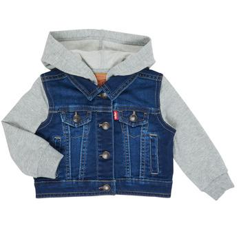 Odjeća Dječak  Traper jakne Levi's INDIGO JACKET Blue